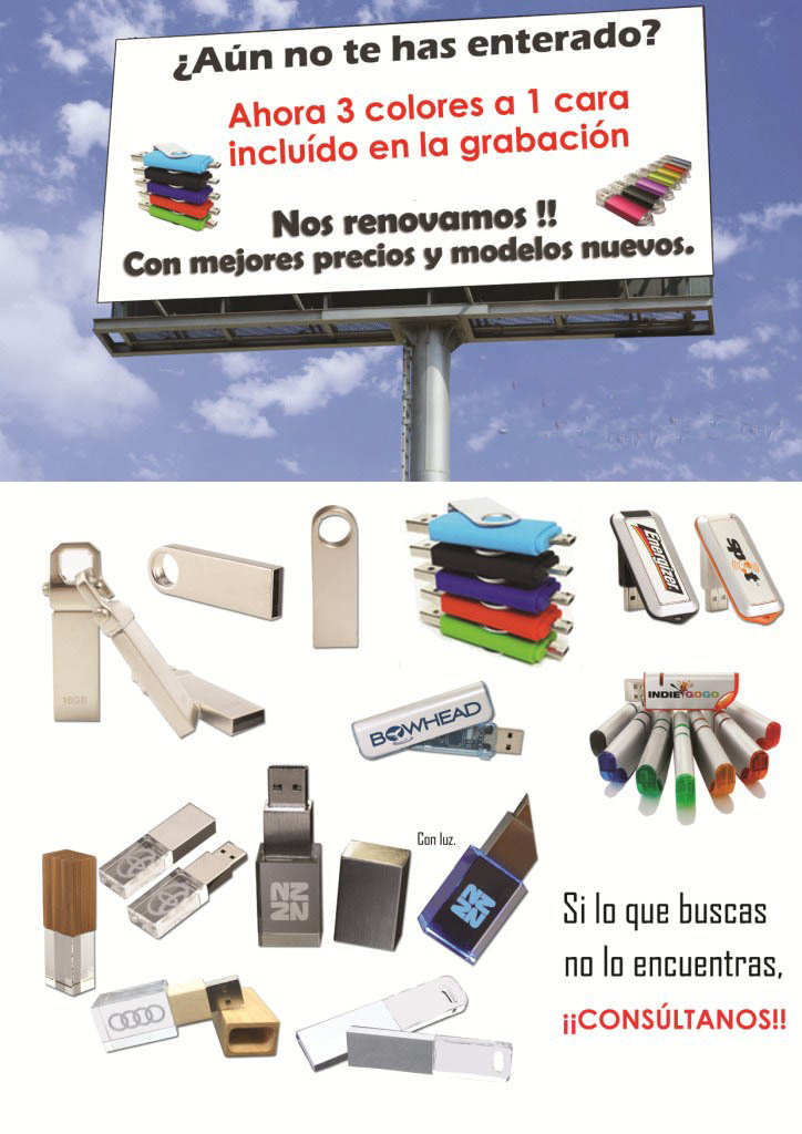 Catalogo  de USB