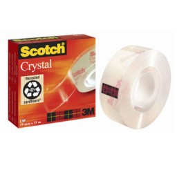 Cinta adhesiva Scotch Crystal 19 mm. x 33 m. 600/1933