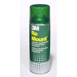 Adhesivo spray Remount Scotch 400 ml. R-MOUNT