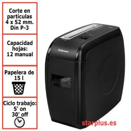 Destructora papel Fellowes 21Cs uso moderado 4360201