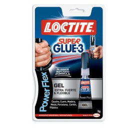 Pegamento Super Glue3 Power Gel 3 g. Loctite 2067093