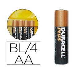 BL4 pilas alcalinas Duracell Plus Power LR6/AA 49962